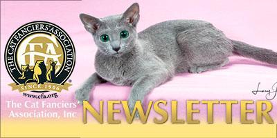 The Cat Fanciers' Association Newsletter - November