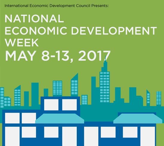 IEDC Economic Development Week 2017 logo