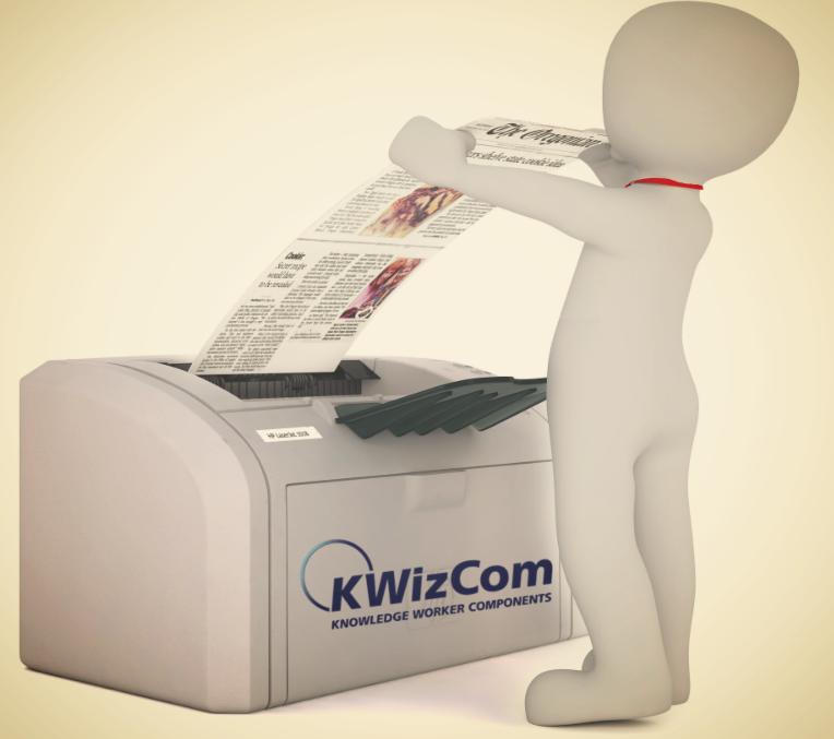 KWizCom Print App