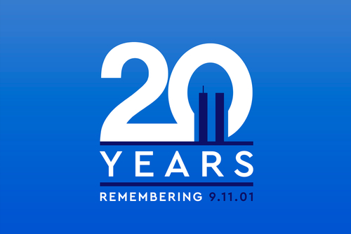 Remembering the 20 Years of 9 11_ Patriot day. We will always rememeber the terrorist attacks on september 11_ 2001.
