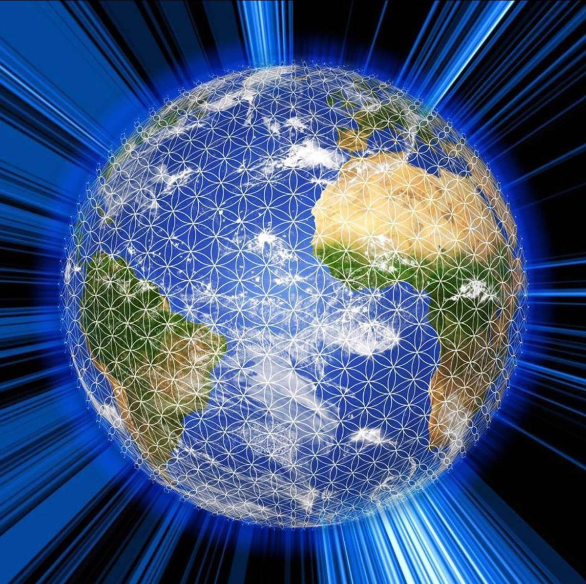 Million Meditation Globe Image