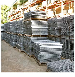 Used wire decking for sale
