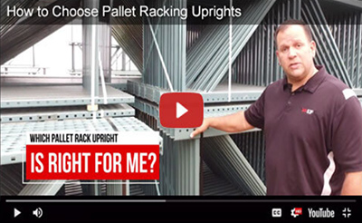 Pallet racking upright video