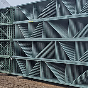 144 inch x 6.5 Heavy duty pallet rack beams