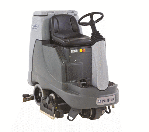 Picture of the scrubbing machine