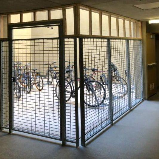 bike cage improvement