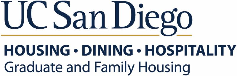 Graduate and Family Housing Logo