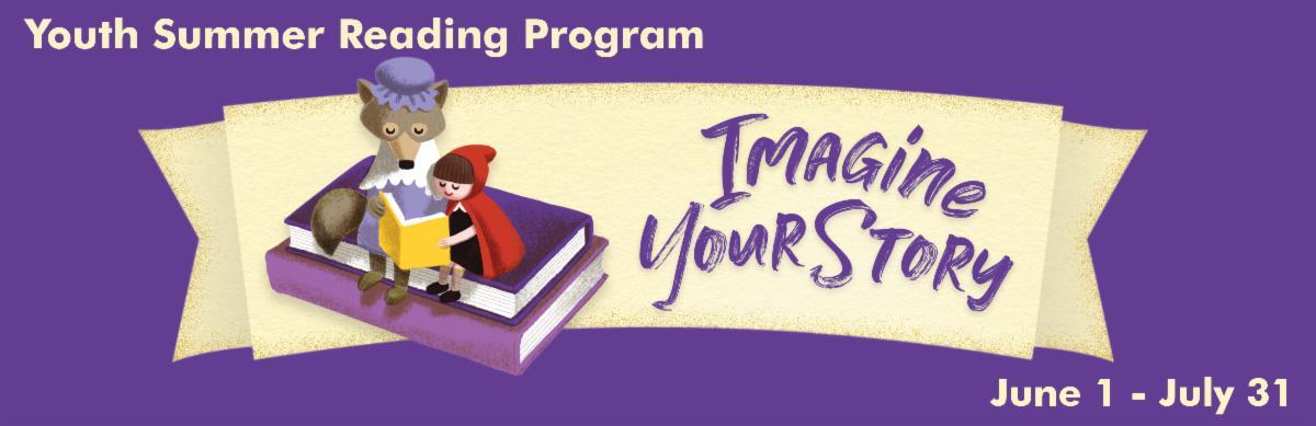 Summer Reading Program June 1 thru July 31