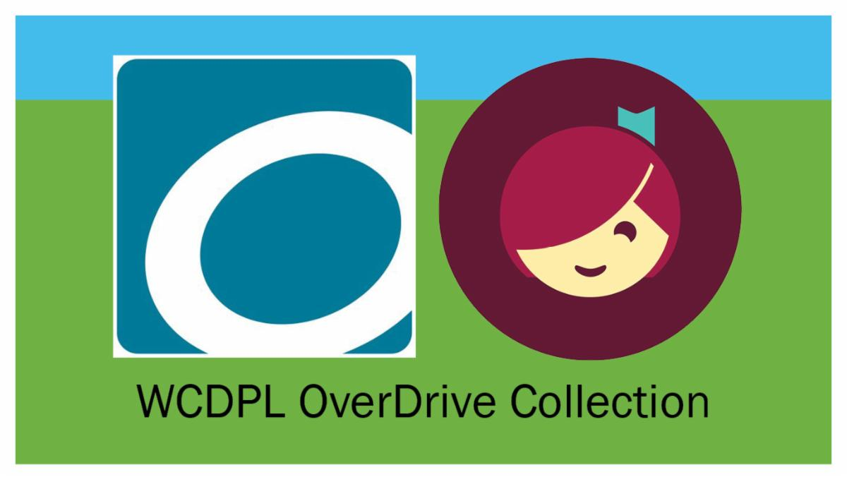 OverDrive and Libby logos combined for the WCDPL OverDrice collection
