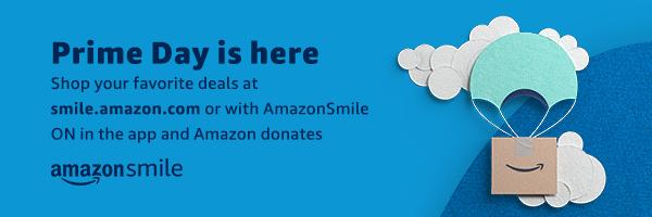 AmazonSmile PrimeDay graphic