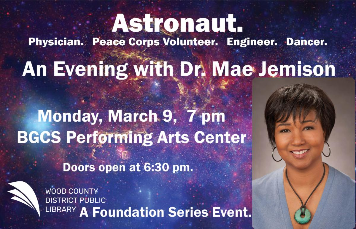 An Evening with Mae Jemison