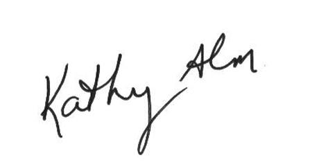 Kathy Alm sig