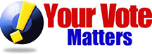 Your Vote Matters in Red White and Blue