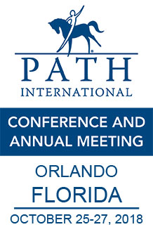 blue on white conference logo