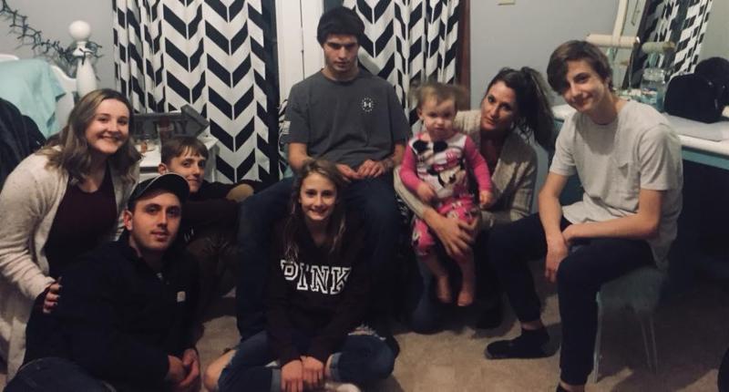 Christy Schmitt and family