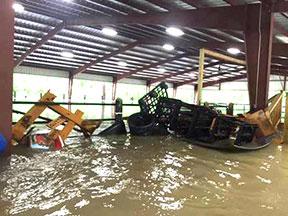 flooded center