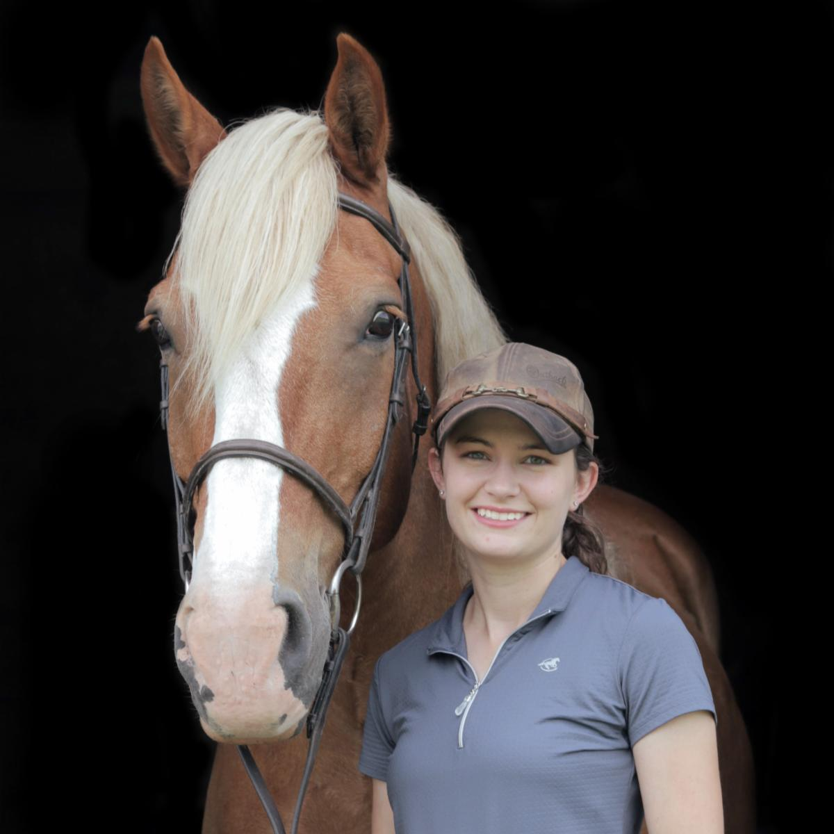 Elizabeth Karmann and horse