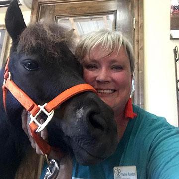 Rachel Royston with horse
