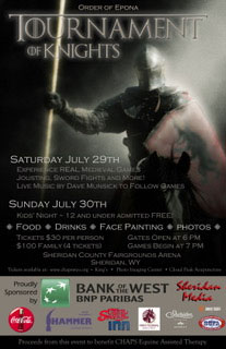 tournament of knights poster