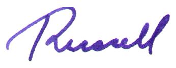 Russell signature