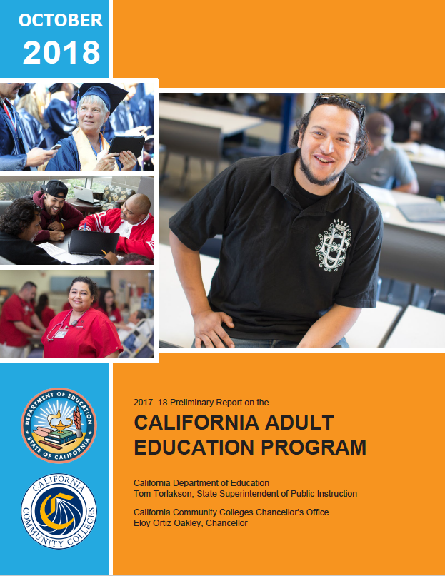 Cover of 2018 CAEP report