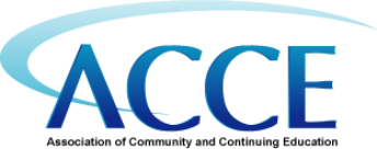 Association of Community and Continuing Education (ACCE) logo