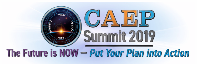 logo for CAEP Summit 2019