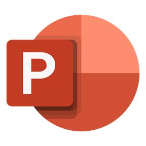 Microsoft PowerPoint ppt logo
