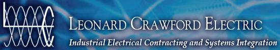 Leonard Crawford Electric Logo