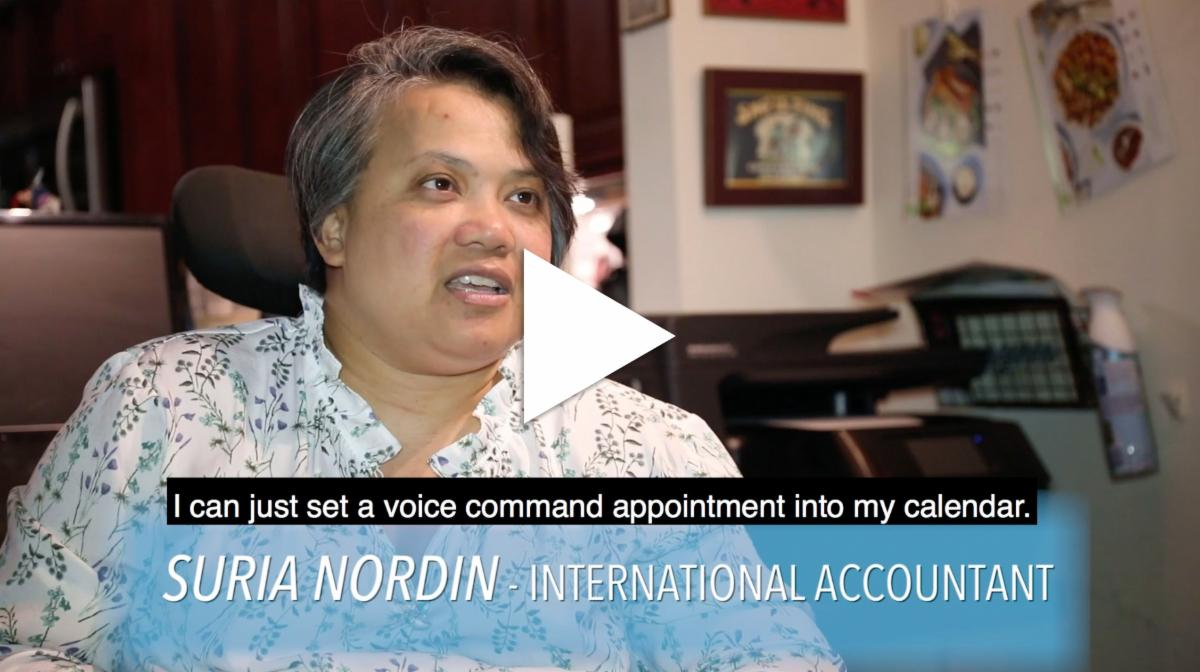 Thumbnail of Meet Suria video interview with Suria Nordin