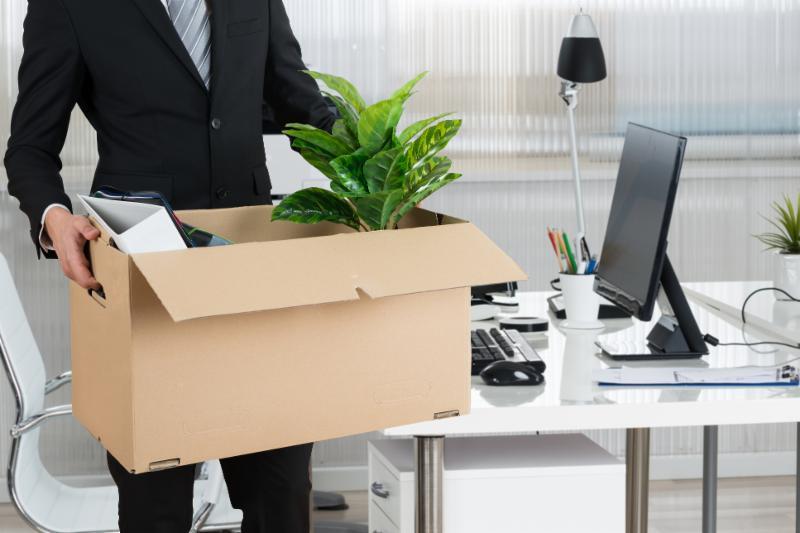 Employee Quitting Job