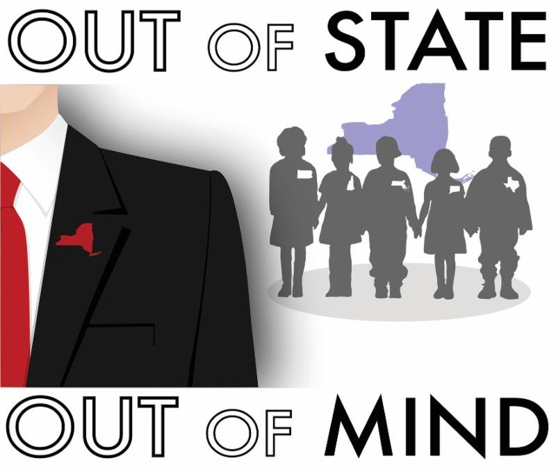 Graphic: Out of State - Out of Mind