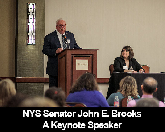 Photo of Senator John E. Brooks - SD8. A Keynote Speaker.