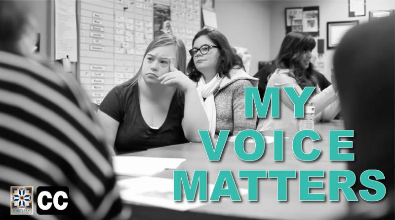 Screenshot for My Voice Matters. Why Students Belong in IEP,  CSE Meetings