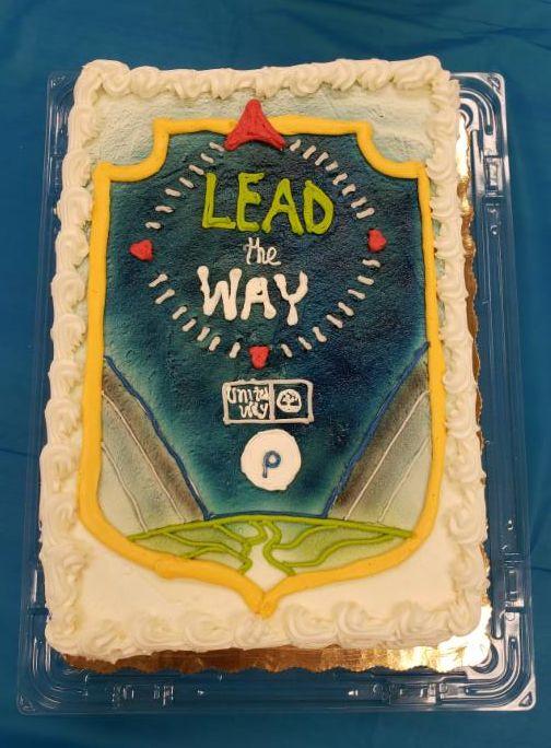 Publix Appreciate 2019 Lead the Way Cake