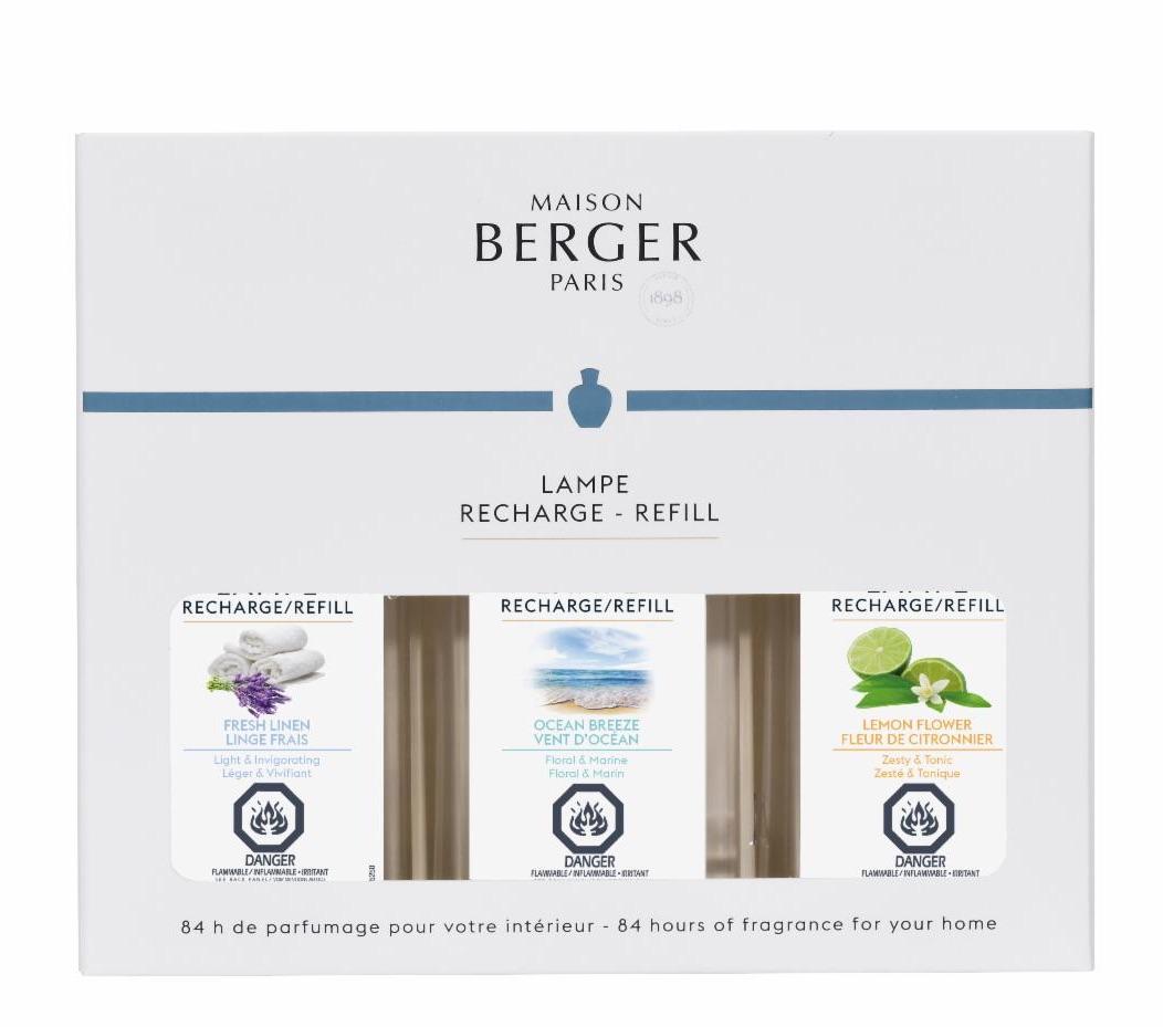 Lampe Berger warm trio