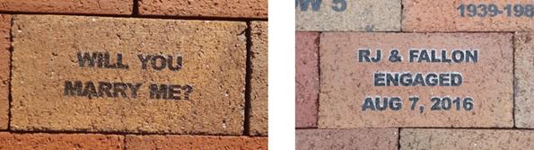 engagement brick