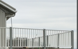 view of new observation deck