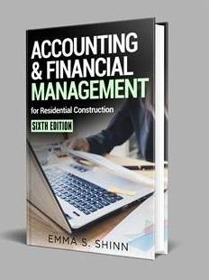 front cover of accounting book