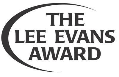 Lee Evans Award logo