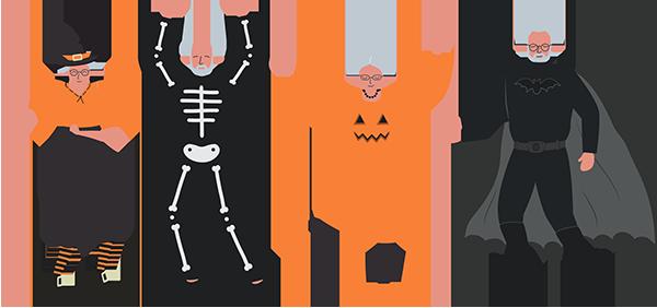 Senior Adult Joy Costume Party