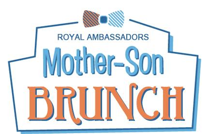 Mother Son Brunch RAs