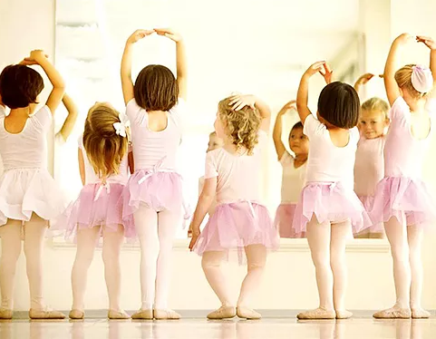 *April* Spring Preschool Ballet Weekly Series (3-6 years)