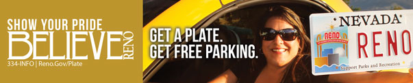 Show Your Pride Get a Plate Get Free Parking banner