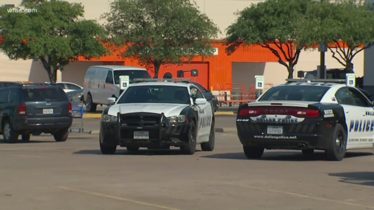 1 Dallas police officer killed, another officer and civilian shot at Home Depot store