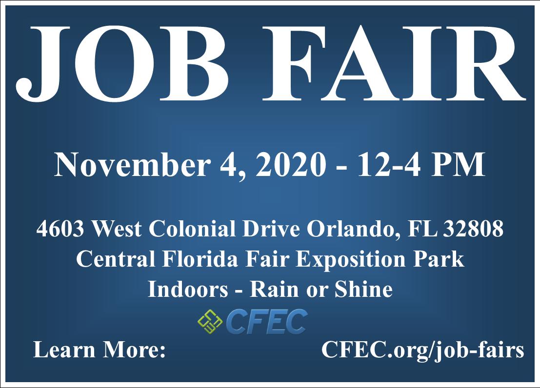 Job Fair November 4th