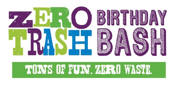 Zero Trash Birthday Bash Header