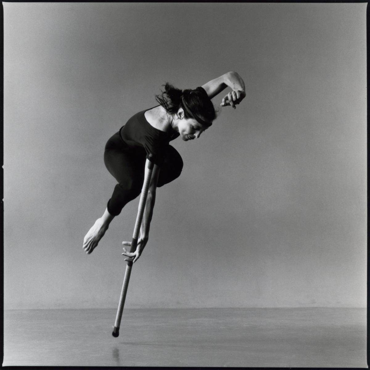 Elizabeth with Pole - Credit -Lois Greenfield