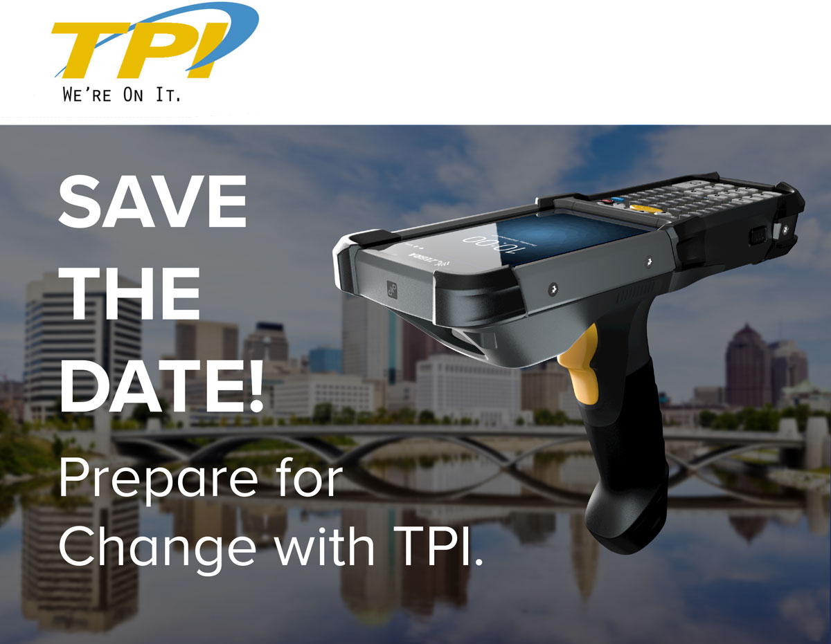 Save the Date! Prepare for Change with TPI.