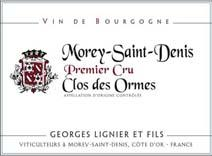 Lignier Georges Ormes Label